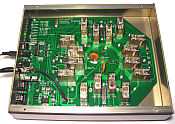 CX Auto antenna switch, internal component view. Click to view larger image.